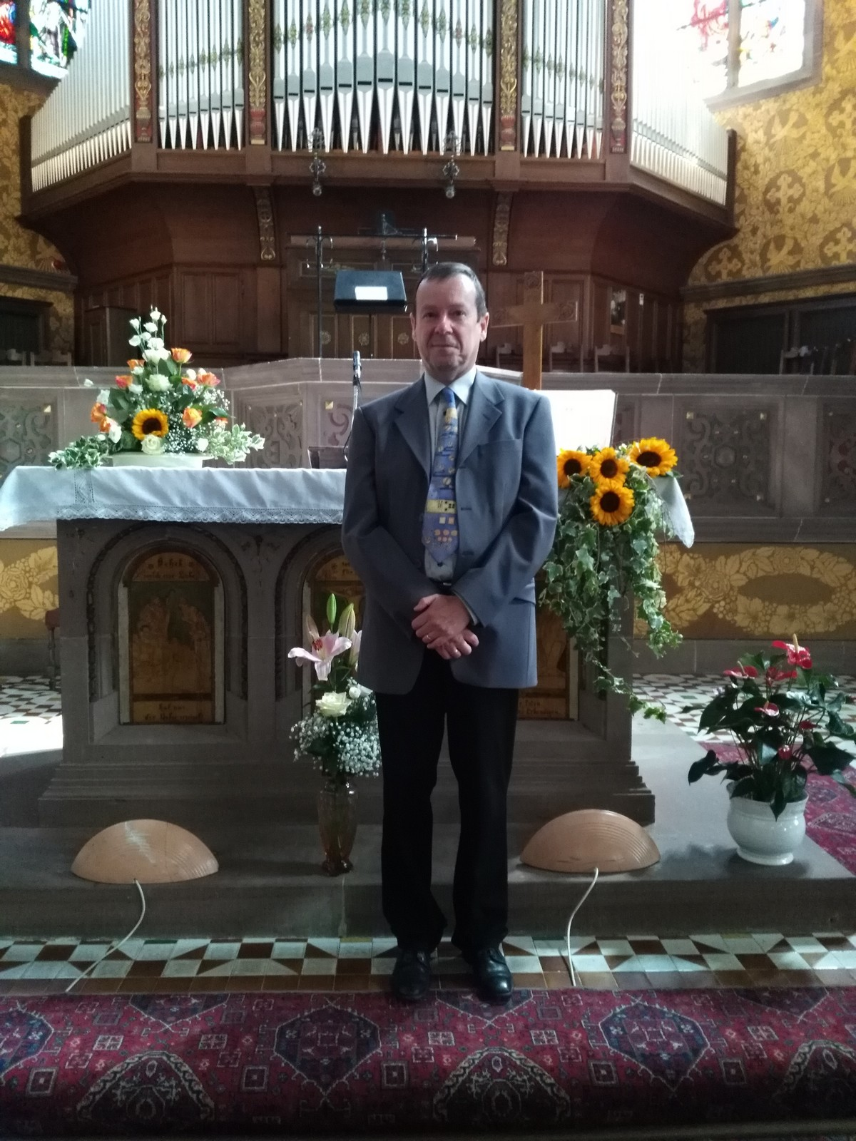 Pasteur de la paroisse protestante de Cronenbourg Centre