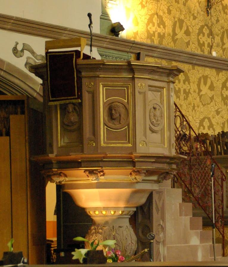 Chaire de la paroisse protestante de Cronenbourg Centre